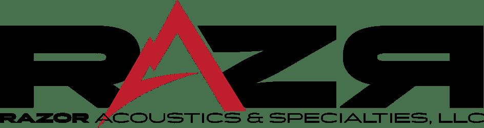 Razor Sharp Acoustical Construction Logo